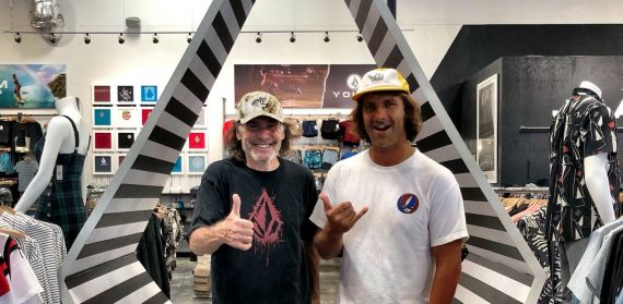 Richie From Volcom In The Volcom Store